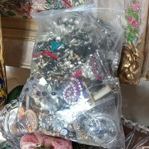 LARGE 4LB. Bag with a DAMAGE Jewelry
